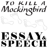 TO KILL A MOCKINGBIRD Essay Prompts & Grading Rubrics