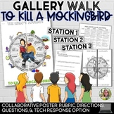 TO KILL A MOCKINGBIRD, HERO'S JOURNEY GALLERY WALK, POSTER, RUBRIC, QUESTIONS