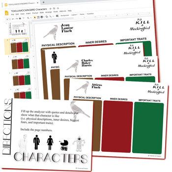 TO KILL A MOCKINGBIRD Plot Chart Organizer Arc - Freytag (Created for Digital)