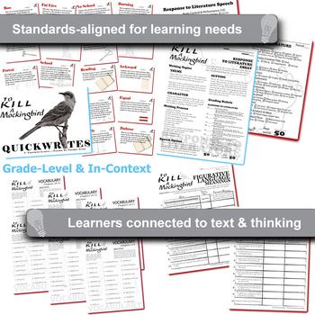TO KILL A MOCKINGBIRD Unit Novel Study (Harper Lee) - Literature Guide