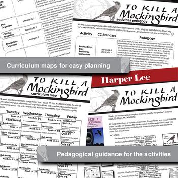 TO KILL A MOCKINGBIRD Unit - Novel Study Bundle (Harper Lee) - Literature Guide