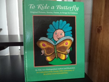 TO RIDE A BUTTERFLY   ISBN 0-440-50402-3