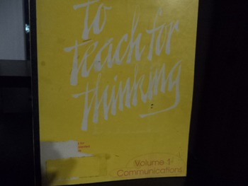 TO TEACH FOR THINKING
