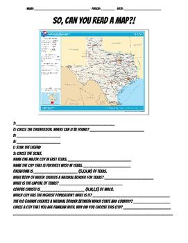 TODALS Map Practice