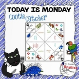 TODAY IS MONDAY - COOTIE CATCHER