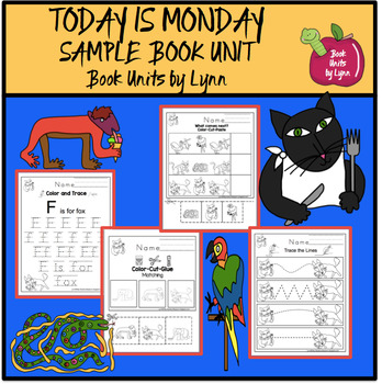 TODAY IS MONDAY SAMPLE BOOK UNIT