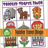 TODDLER TRAVEL BINGO