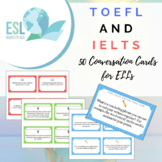 TOEFL / IELTS Conversation Cards for ELLs