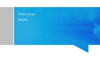 TOEFL Reading Tasks