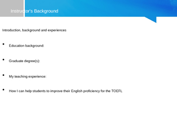 TOEFL Speaking Integrated Tasks 5 and 6