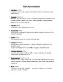 TOEFL Vocabulary List 1