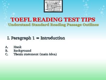 TOEFL iBT Reading Seminar Flyer