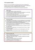 TOK Presentation Checklist for students