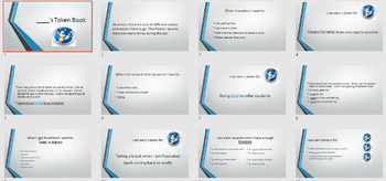 TOKEN ECONOMY Sonic Social Story + Token board + Tokens **Editable*