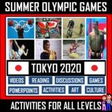 TOKYO 2020 SUMMER OLYMPICS ACTIVITIES BUNDLE - INCLUDES OVER 73 VIDEOS!
