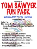 TOM SAWYER FUN PACK LESSON PLAN W/5 ENGAGING COMMON CORE L