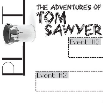 TOM SAWYER Plot Chart Organizer Diagram Arc (by Twain) - Freytag's Pyramid