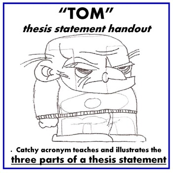 "Thesis Statement Handout ""TOM"""