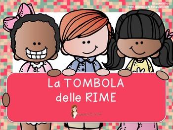 TOMBOLA DELLE RIME