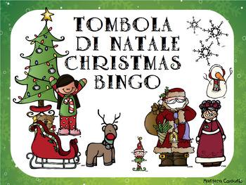 TOMBOLA DI NATALE - CHRISTMAS BINGO