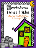 TOMBSTONE TIMES TABLES
