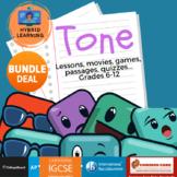 BUNDLE Tone AP IB IGCSE SAT Writing Reading Games Activiti
