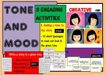 TONE AND MOOD - 3 ENGAGING ACTIVITIES