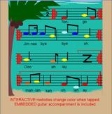 TONGO ~ Polynesian Folk Song~ Timka~ Low so~ Pentatonic~SM