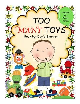 TOO MANY TOYS (David Shannon book) Christmas