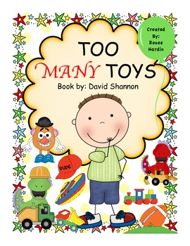 TOO MANY TOYS (David Shannon book) Christmas