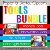TOOLS BUNDLE PAPER & DIGITAL OPTIONS