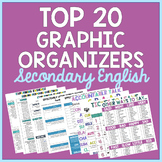 TOP 20 Graphic Organizers for Secondary English