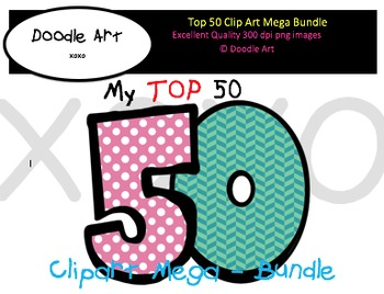 TOP 50 Clipart Pack