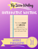 TOP SCORE WRITING 3rd Grade Lesson 27 - Middle Paragraphs