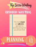 TOP SCORE WRITING 4th Grade Lesson 51 - Opinion Planning