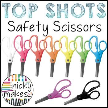 Safety Scissor Clips - TOP SHOTS