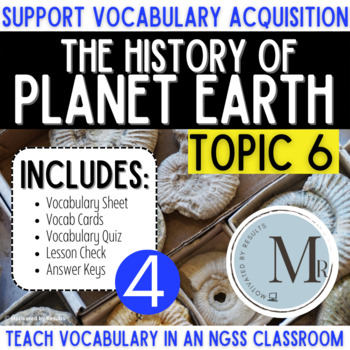 THE HISTORY OF PLANET EARTH Topic 6 4th Grade