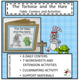 TORTOISE AND THE HARE FABLE UNIT FOR EMERGENT READERS