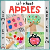 TOT SCHOOL: APPLES {Complete Curriculum - Bilingual}