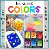 TOT SCHOOL: COLORS {Complete Curriculum - Bilingual}
