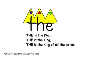 TOTAL SIGHT WORDS-THE