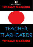 JAPANESE HIRAGANA FLASH CARDS