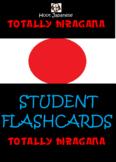 HIRAGANA JAPANESE- STUDENT FLASH CARD PACK