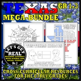 TOTALLY TEXAS Mega-Bundle for Grades 1-3
