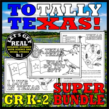 TOTALLY TEXAS Bundle for Grades K-2