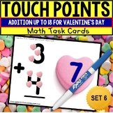 """TOUCH POINT Addition To 18 TASK CARDS Valentine's Day Theme """"Task Box Filler"""""""