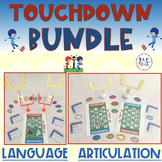 TOUCHDOWN ARTICULATION & LANGUAGE BUNDLE (SPEECH & LANGUAG