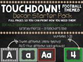 TOUCHDOWN! Football Themed Decor Pack!
