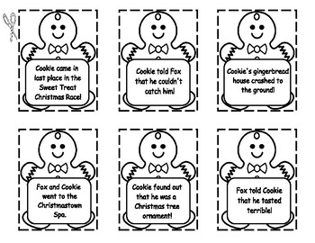 TOUGH COOKIE  --  SEQUENCING, WRITING, COMPREHENSION, AND MORE!