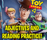 TOY STORY 4 WORKSHEET │ READING COMPREHENSION AND ADJECTIV